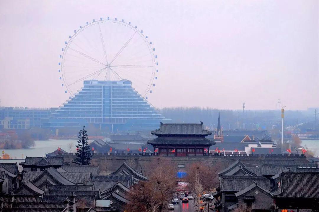 山东被忽略的一座古城,被护城河东昌湖所环绕,城墙高11.7米