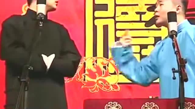 烧饼问郭麒麟你爸爸是谁闫鹤翔抢答很有趣郭德纲表情微妙
