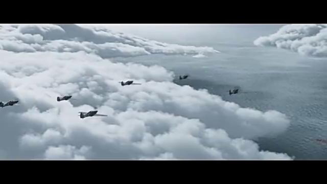 二战期间好看的空战影片,1800尺的空中交战,劲爆