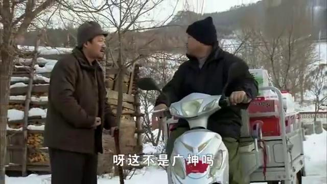 刘能谢广坤碰面,嘘寒问暖的画面不多见啊,真暖心!