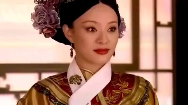 《甄嬛传》:一个侧福晋竟敢如此挑衅甄嬛, 孙俪可非等闲之辈