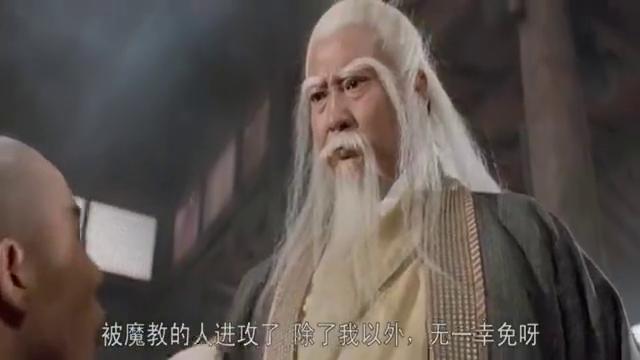 李连杰和玄冥二老打得身上冒烟儿,洪金宝问九阳神功怎么这么厉害