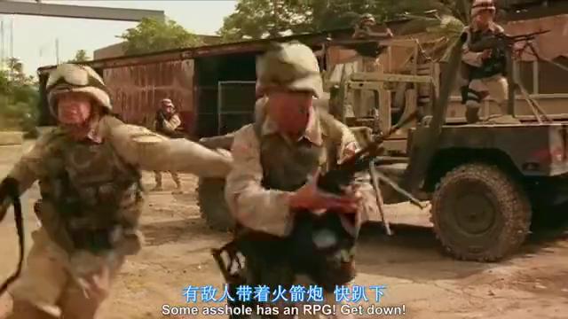 一部真实惨烈的伊拉克战争片,美军士兵随时都会遭到武装分子袭击