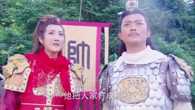 周青当来使到寒江关劝和,不料被杨藩当场击杀