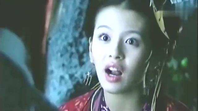 《仙剑奇侠传》中赵灵儿变为女娲形态,被阿奴发现,场面极其温馨