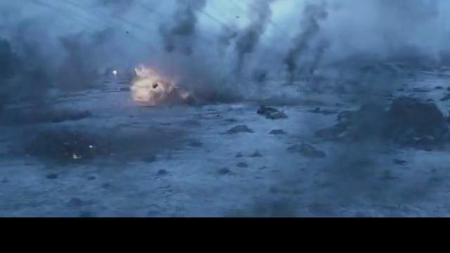 《猩球崛起3》人猿大战,,雪崩要到来了,猩猩集体躲起来!