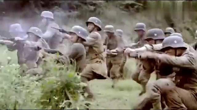 八路与敌军打伏击战,打的日本落花流水