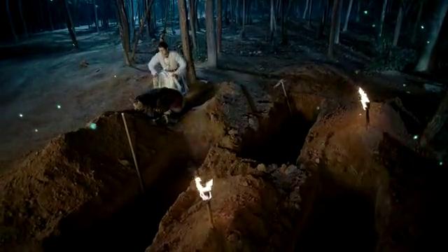 穆天然杨仁执把自己的坟墓都挖好了,准备与杨司伯决一死战