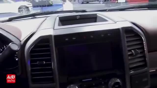 2020款 福特 F-250 SuperDuty Platinum,车展详细实拍