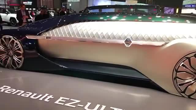2019年日内瓦车展雷诺EZ,室内结构让人打开眼界