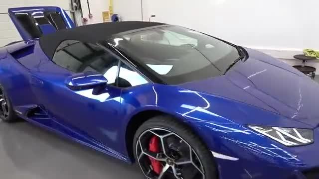 2020款兰博基尼Huracan EVO Spyder到店实拍