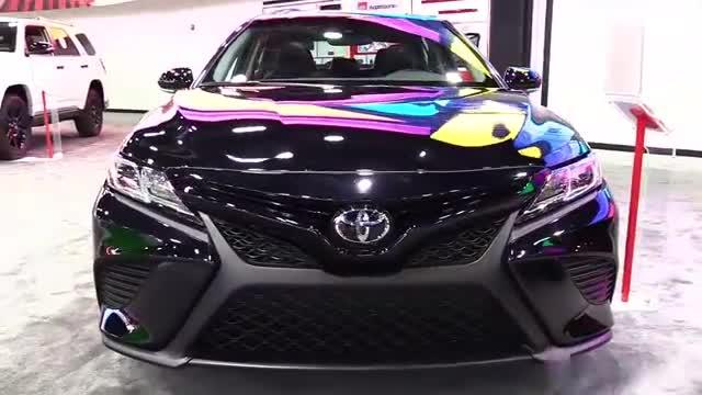 视频:2019款丰田凯美瑞亮相车展,改款后外形更加时尚帅气