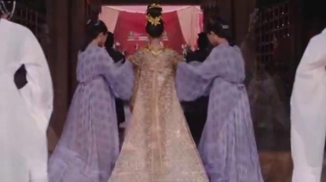 九州缥缈录:羽然大婚片段,羽然着金闪婚服,能顺利成亲吗