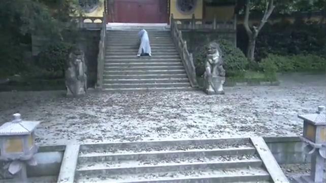 天龙八部:萧峰来少林寺见父亲被拒绝,竟长跪七天七夜表决心
