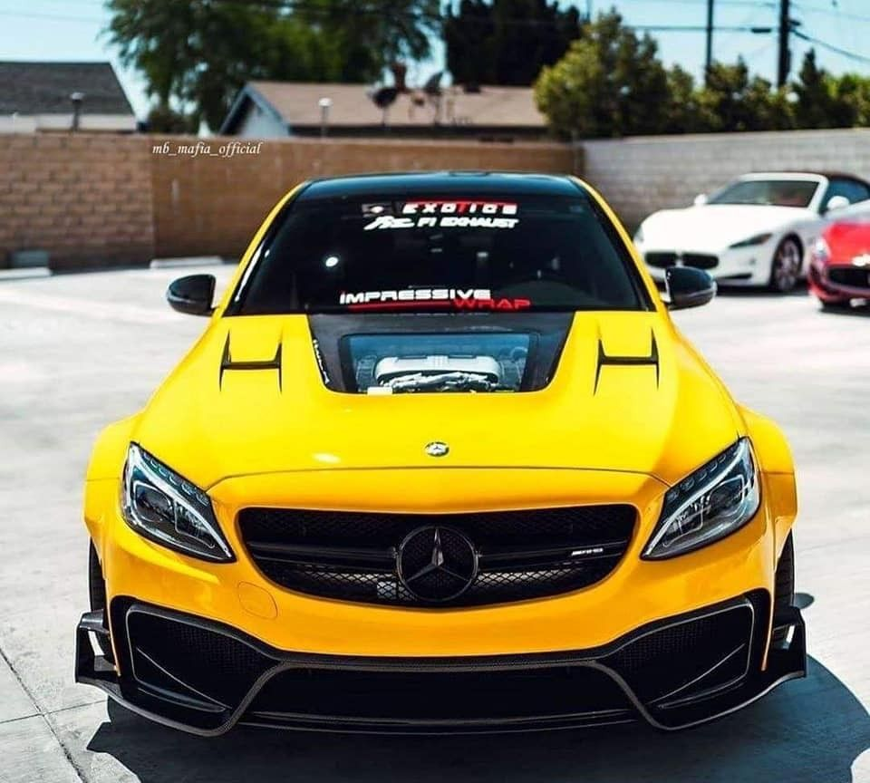 性能怪兽:奔驰 C63 AMG
