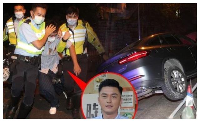 杨明避谈是否醉驾 与警队合作喊停
