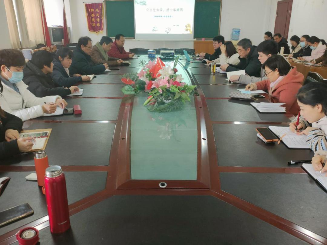枣庄职业学院陶晓军为医学院全体党员上党课