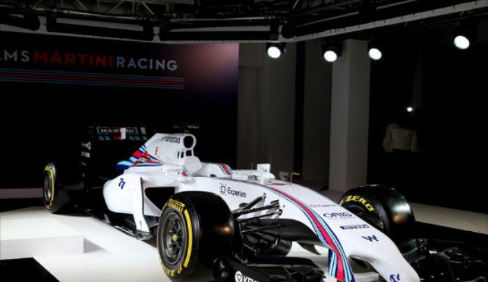 威廉姆斯车队:车身让人着迷,赛车让人狂热,很有气势
