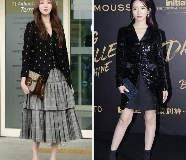 """秋天最时髦穿法,""""薄外套+裙子""""穿搭干货,看起来优雅还高级"""