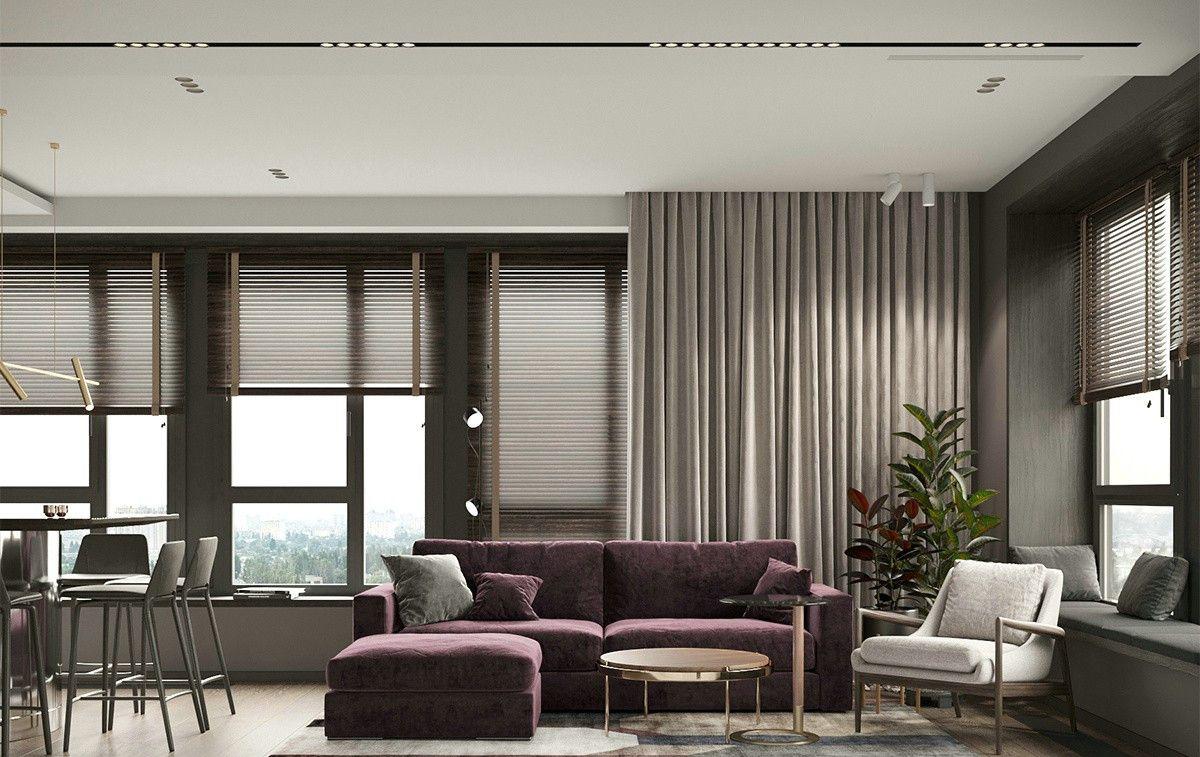 质简的浪漫 - 红紫色系遇上金属元素的质感美