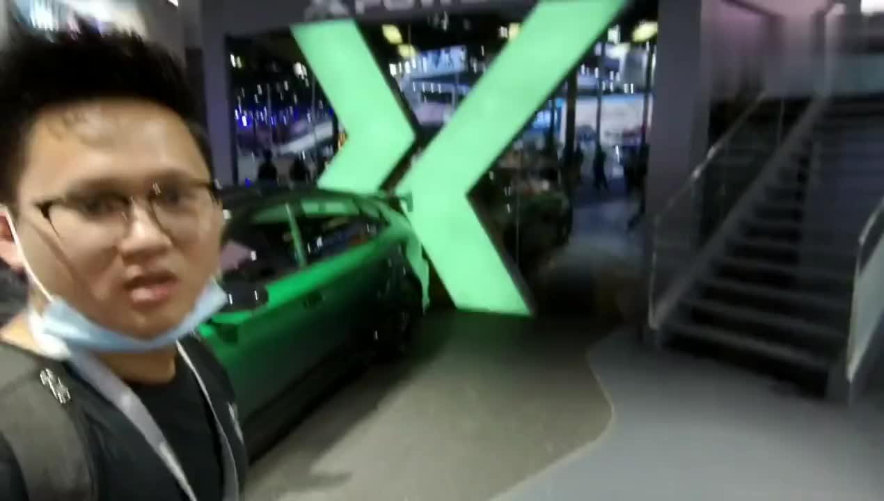 视频:九樽论带你逛2020成都车展,名爵6XPOWER