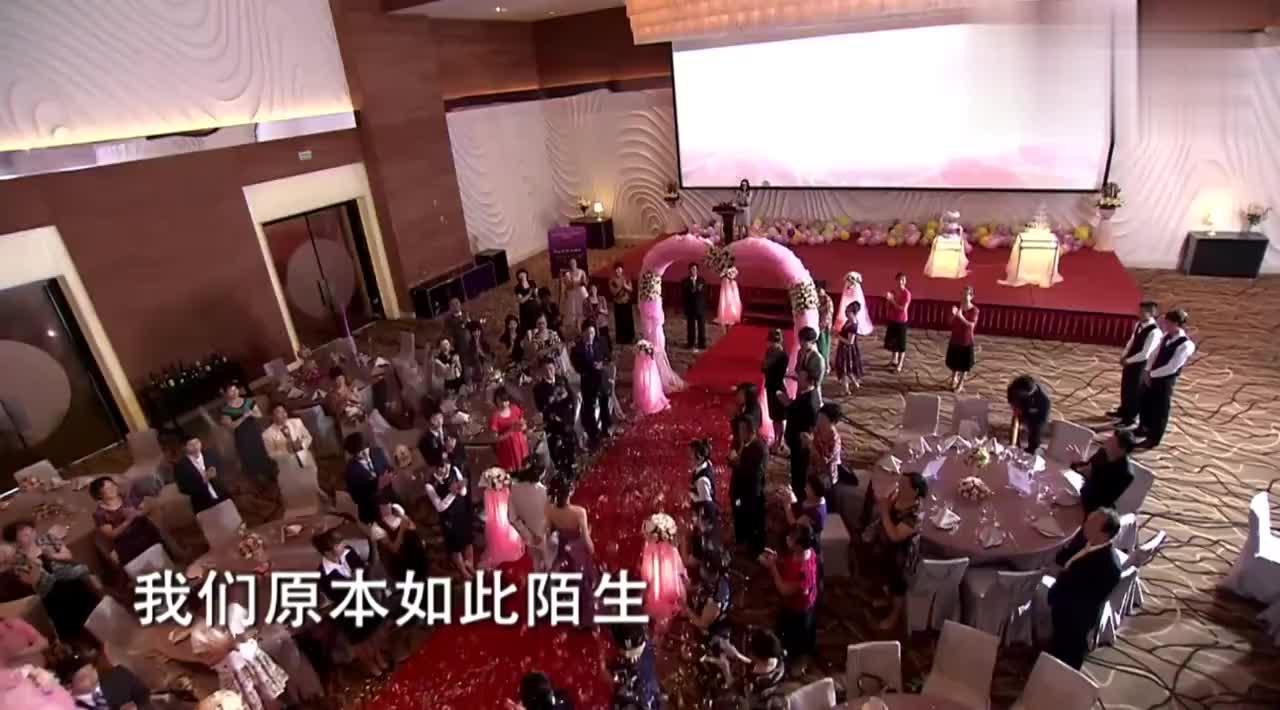总裁带女友参加哥哥婚礼,不料女友听祝词听哭了,一问原因懂了!