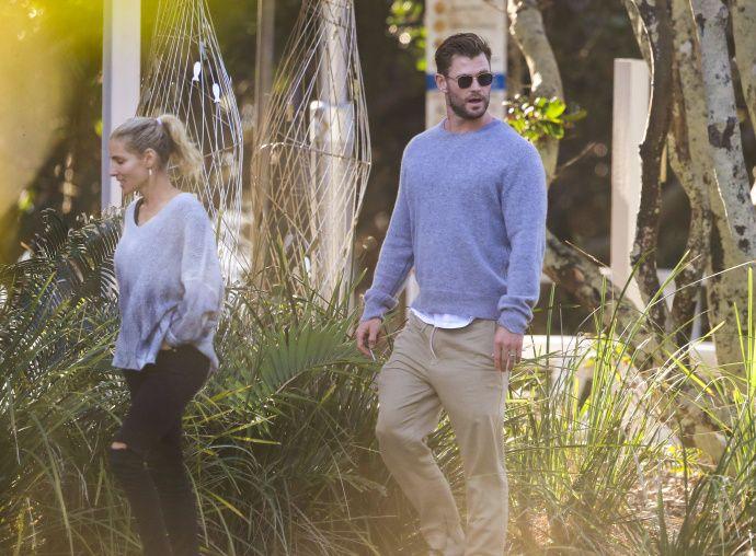 锤哥 Chris Hemsworth 锤弟一大家最新街拍美图大赏