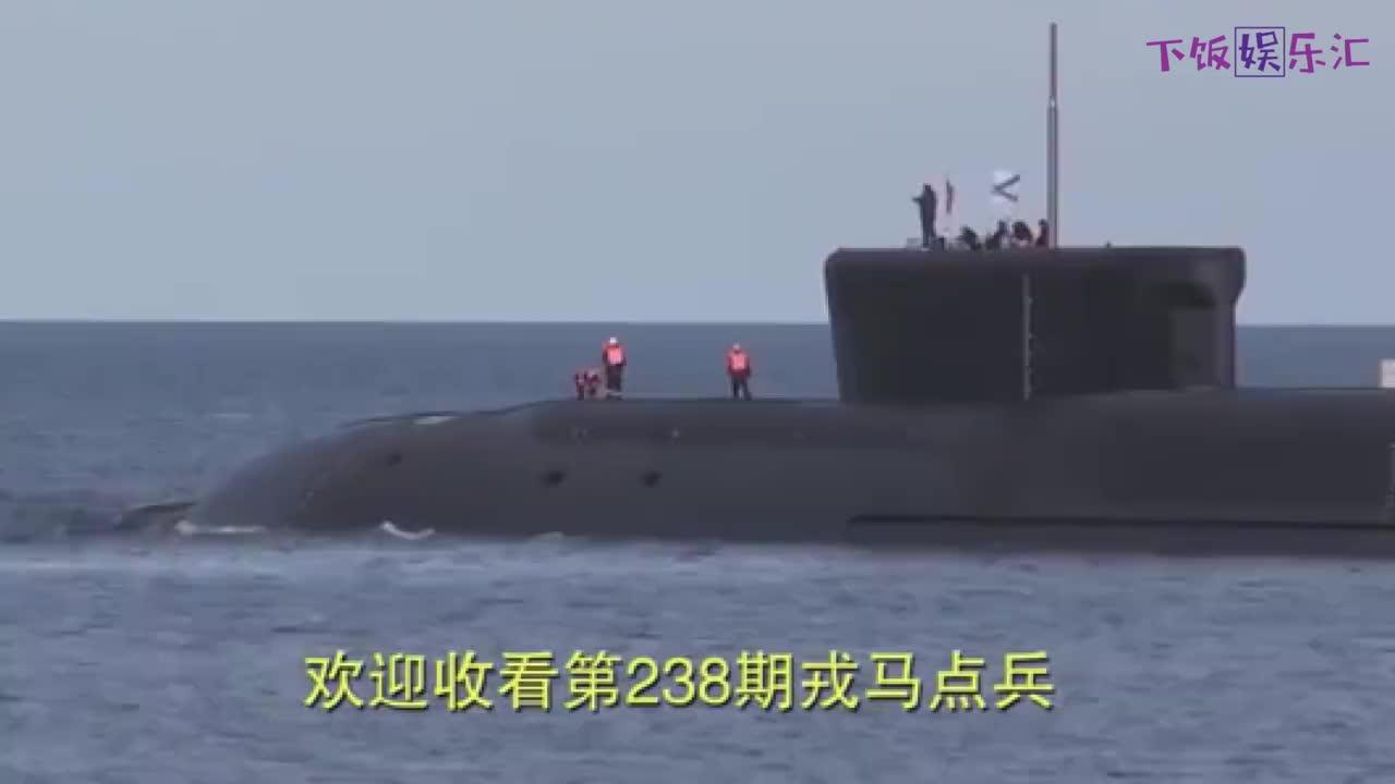 俄罗斯海军秀肌肉!北风之神级核潜艇,一次齐射4枚布拉瓦导弹