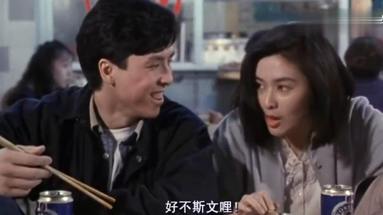 女神关之琳和甄子丹吃饭,没想到关之琳吃饭这么霸气