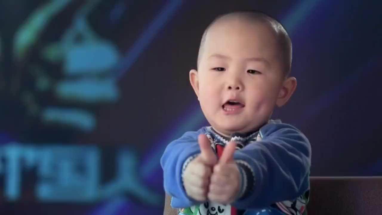 出彩中国人:3岁男孩人民大会堂舞台跳广场舞,引李连杰拍手