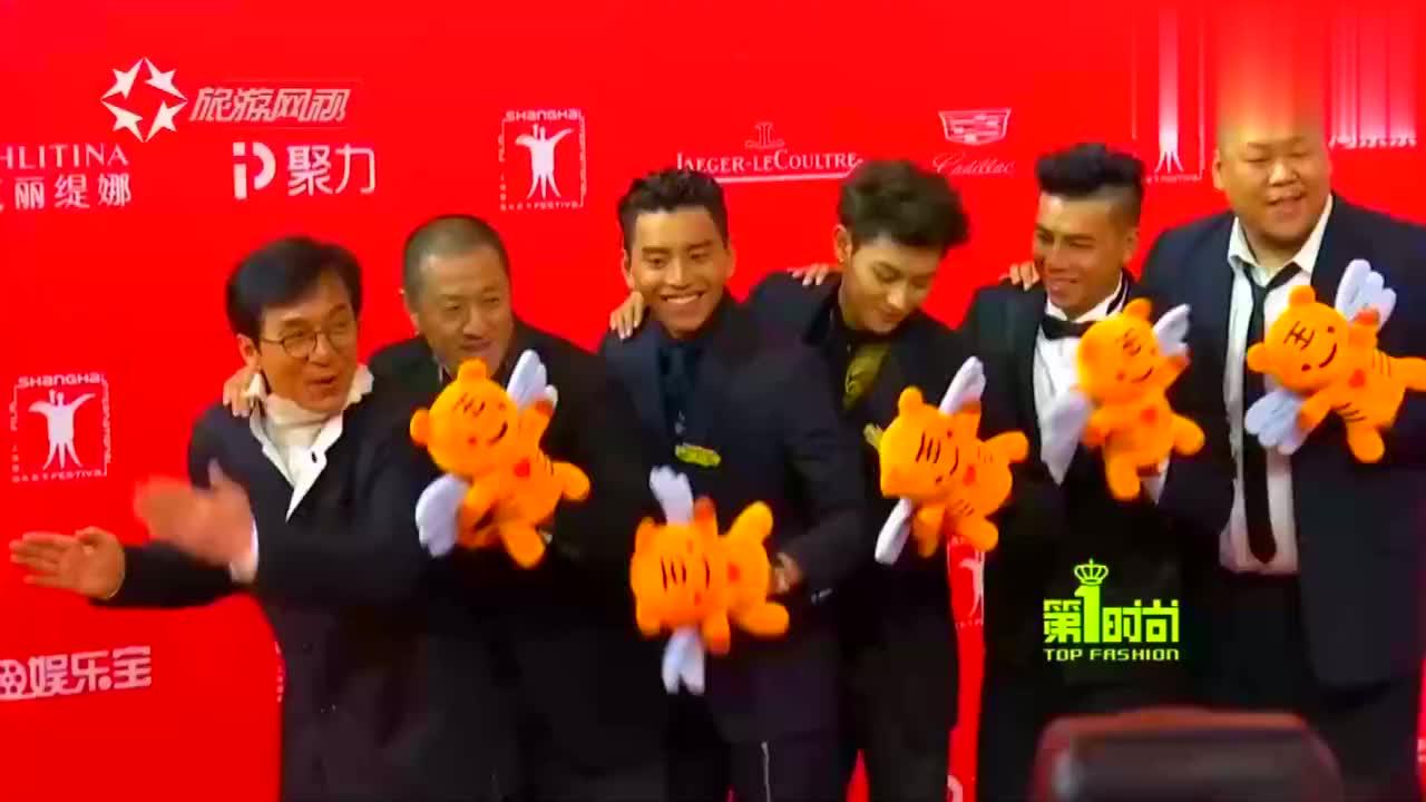 上海国际电影节红毯,众多女星争奇斗艳,谁才是女王?