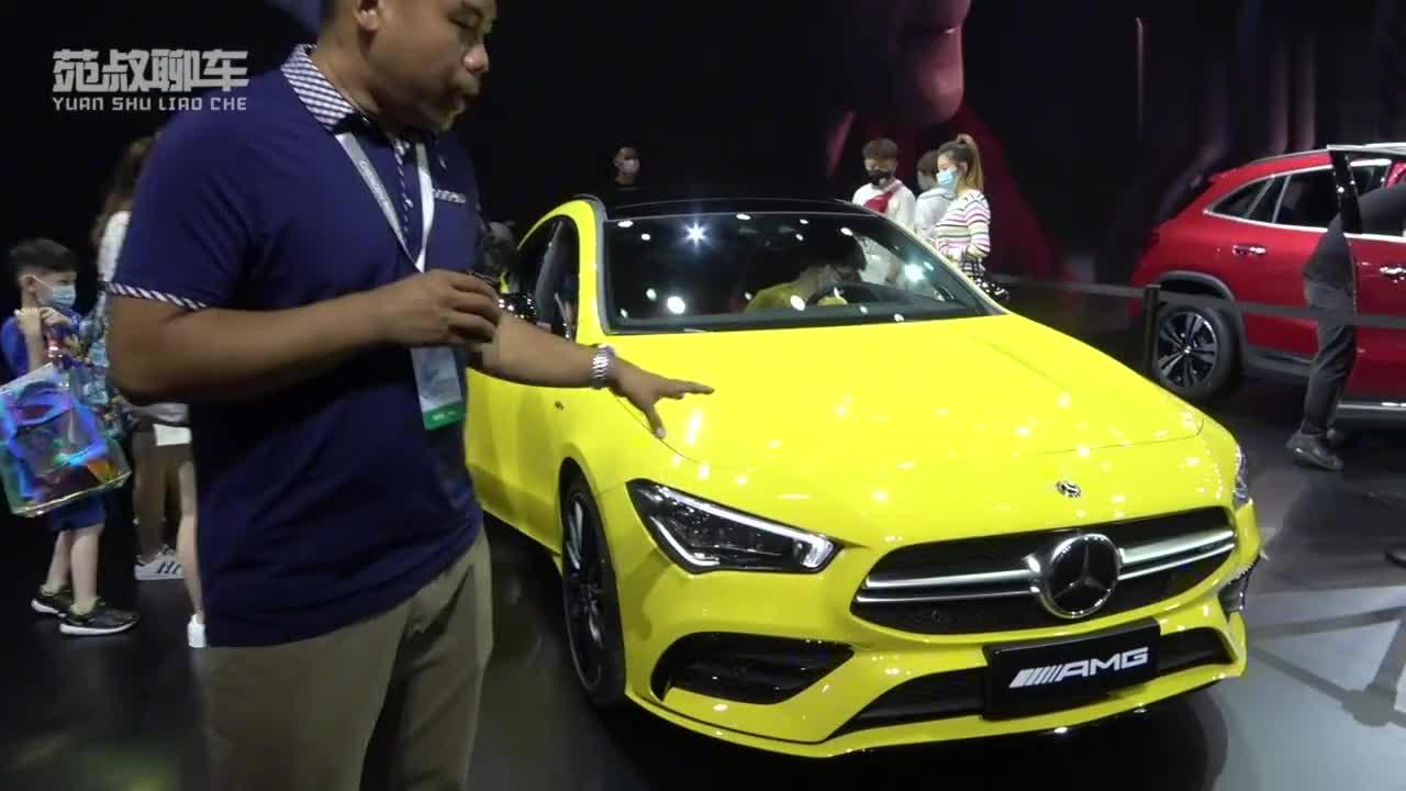 成都车展新车实拍两款AMG车型国内上市,零百加速最快不到4秒