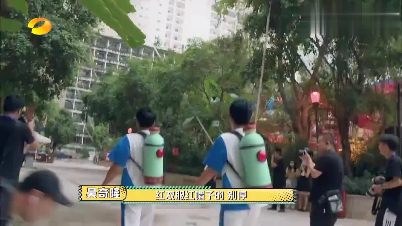吴奇隆捉迷藏终结者,对节目组的招数了如指掌,赵让开局就被识破