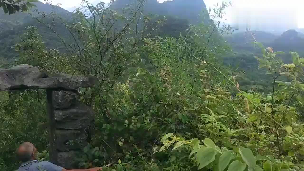 神秘的广西全州石塘镇仁甲村的古石寨,无人知道它的历史