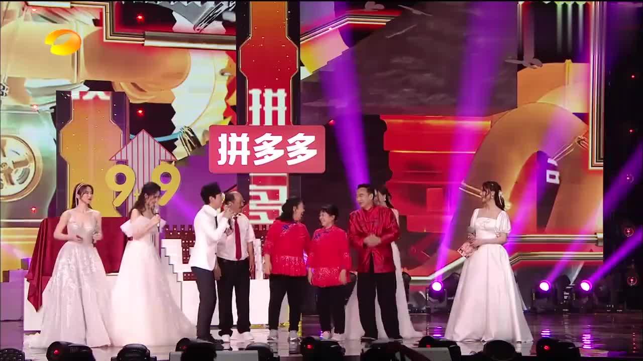 618晚会:沈梦辰念错谢广坤名字,何炅展现超高情商,机智救场!