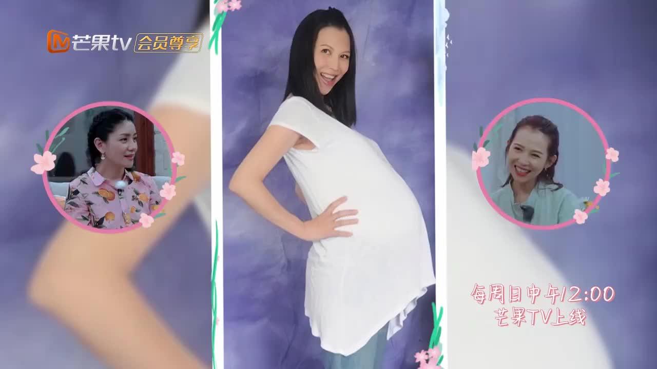 蔡少芬孕妇照曝光太惊艳,娘娘一脸骄傲:照片只准我老公拍!
