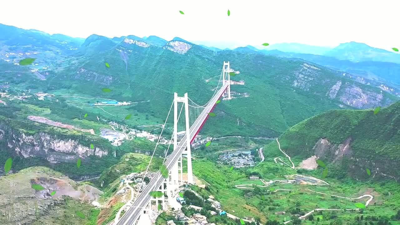 航拍赤水河红军大桥,贵州四川交界的高速特大桥,看得我热血沸腾