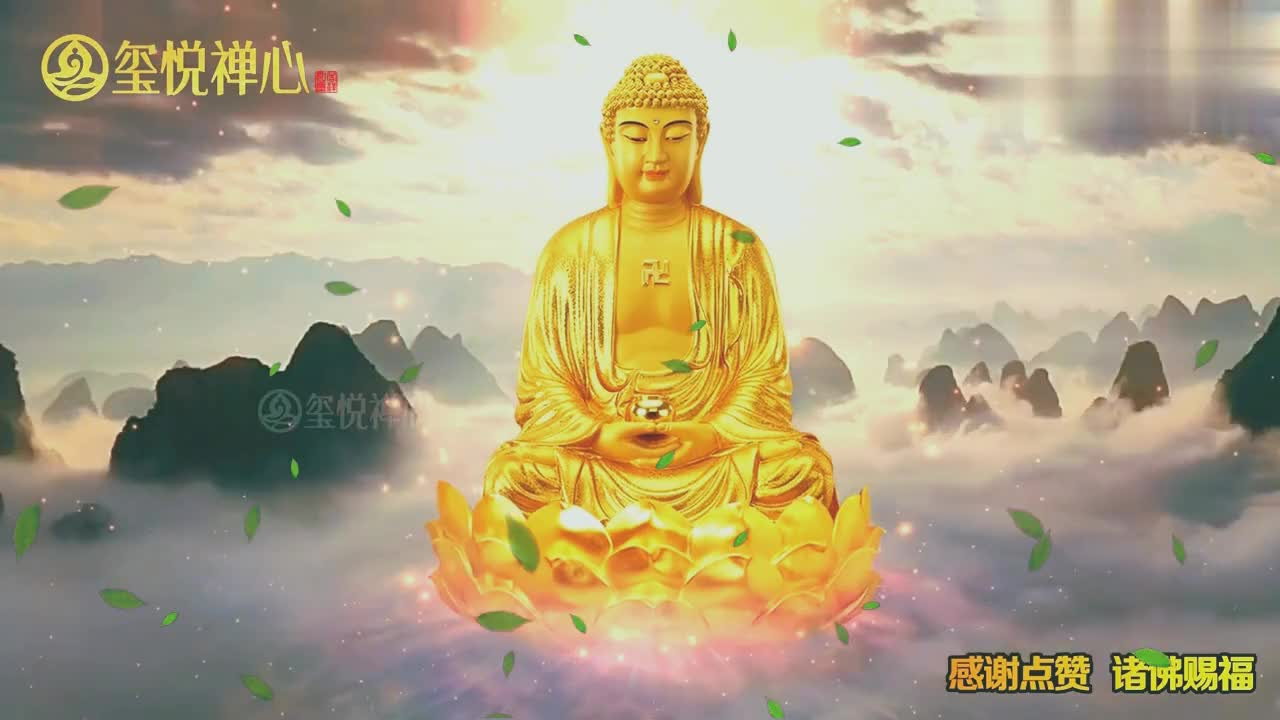 佛教歌曲《问佛》,缘来缘去人生几何,净化心灵种下善果