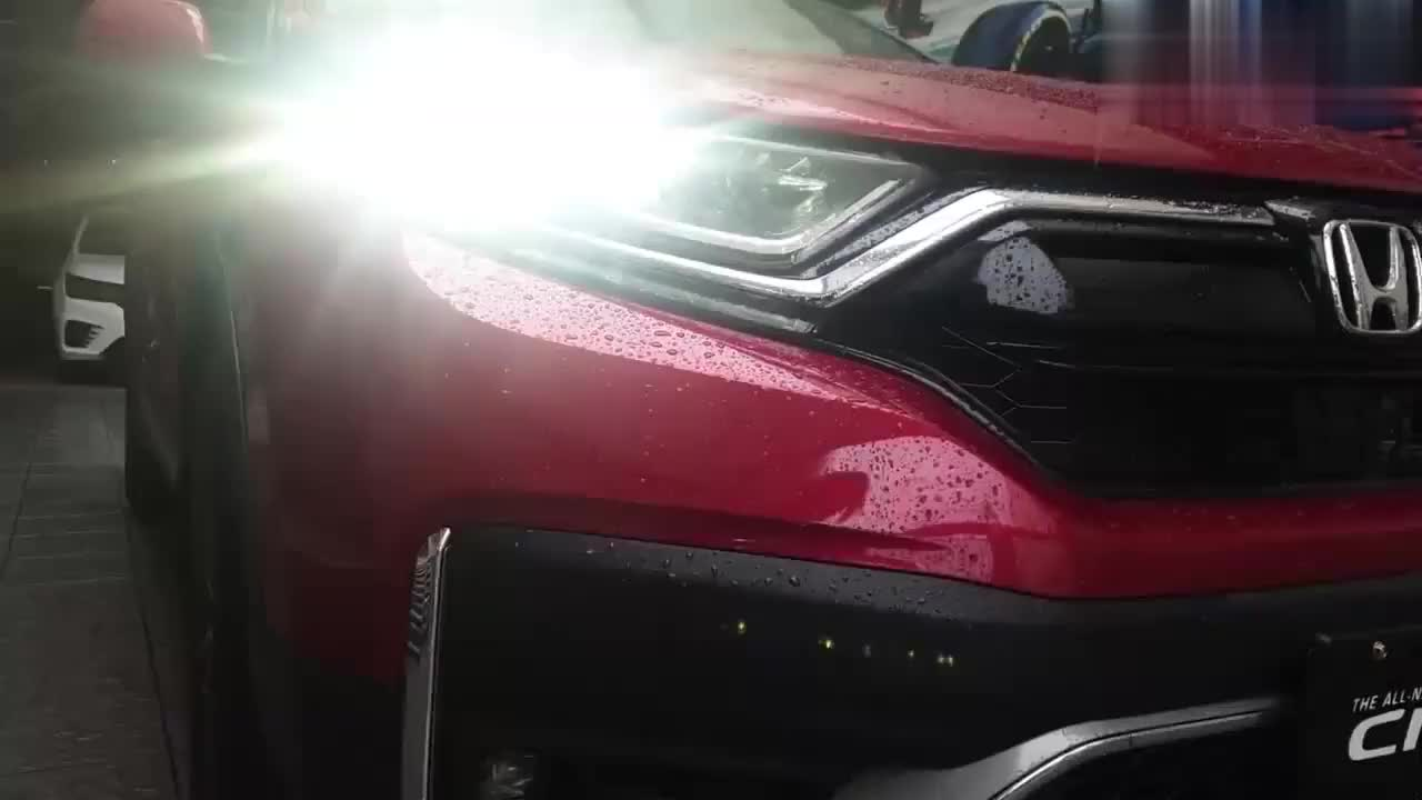 新车展示,2021款本田CRV实拍,颜值高空间大,我放弃了奥迪Q5