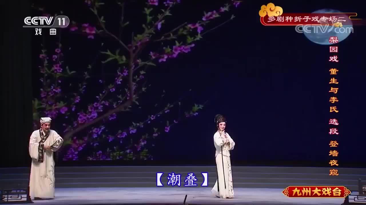 梨园戏《董生与李氏》,登墙夜窥选段(7)