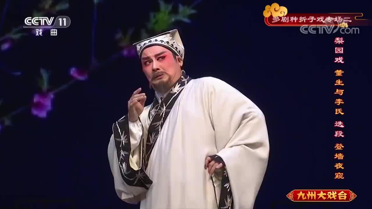 梨园戏《董生与李氏》,登墙夜窥选段(3)