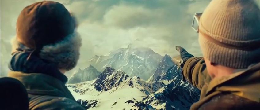 九层妖塔:探险队员深入昆仑山腹地,发现巨型不明生物脚印