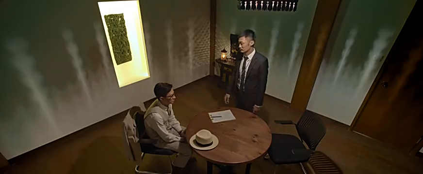 余文乐审问张家辉,两戏精现场飚戏