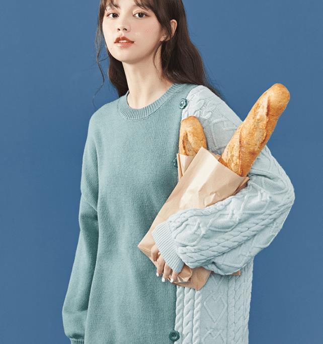 穿搭简约时尚的毛衣,上身保暖更利落有型,为你的魅力加分