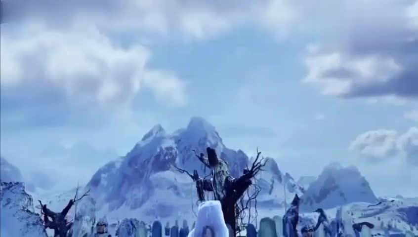 幻城:人鱼公主被冰冻,亲眼看着儿子死在眼前,引来上古真神!