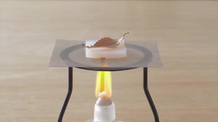 神奇的气凝胶绝缘材料,耐热实验