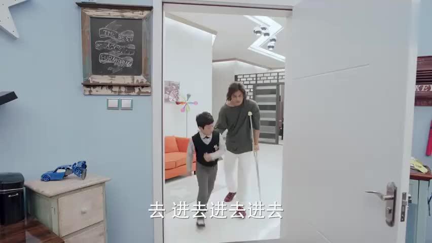 熊孩子:儿子不想老爸当总经理,和尤用达成统一战线,两人贼逗