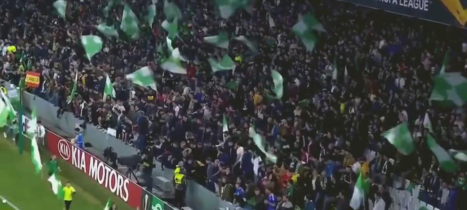 欧联杯-苏索任意球救主奥萨基奥被队友撞伤AC米兰客场1-1贝蒂斯