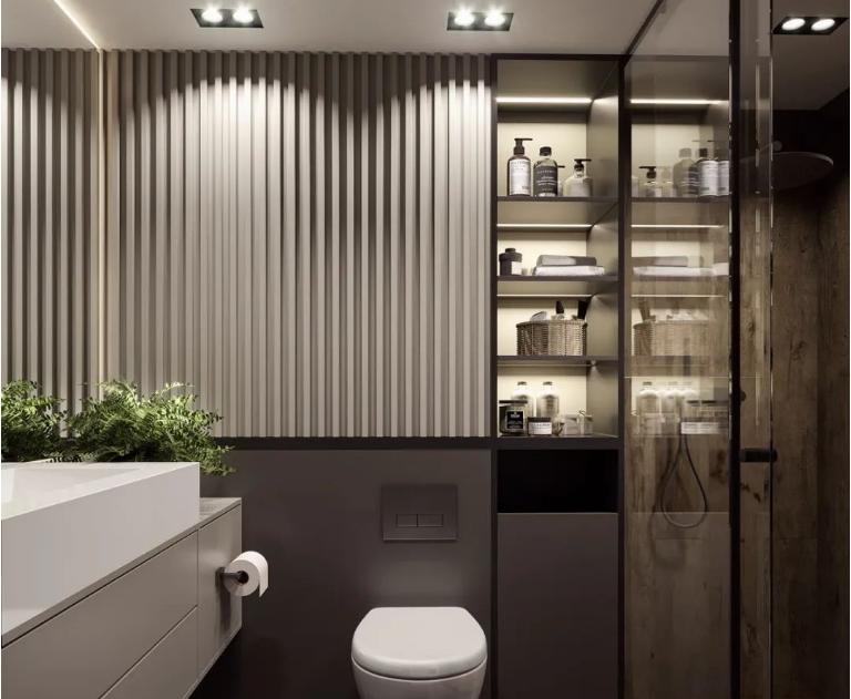 「匠丽美家」现代风艺术处处精致,小公寓也有味道