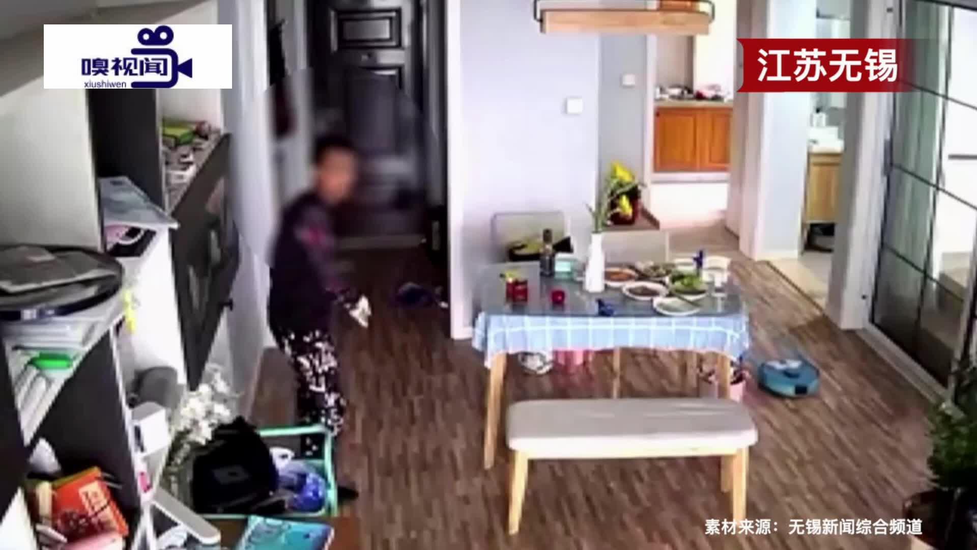 """江苏无锡:窃贼翻窗入户,民警仅凭半个头一眼认出""""熟人"""""""